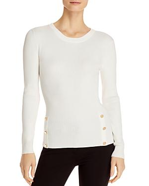 T Tahari Side-button Top