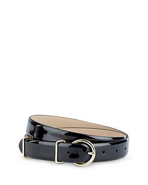 Hobbs London Kenya Patent Leather Belt