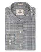 Todd Snyder Micro Check Regular Fit Button Down Shirt