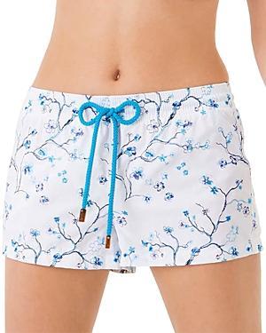 Vilebrequin Embroidered Cherry Blossom Swim Shorties