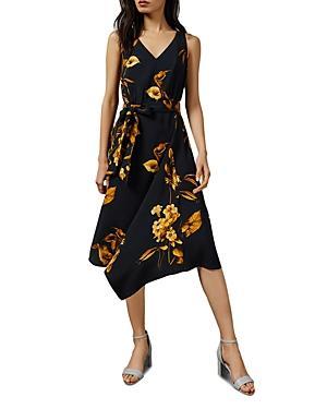 Ted Baker Callo Fantasia-print Floral Dress