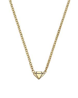 Zoe Chicco 14k Yellow Gold Diamond Pendant Necklace, 16