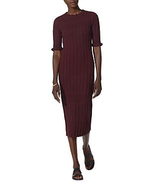 Joie Ribbed Midi Dress