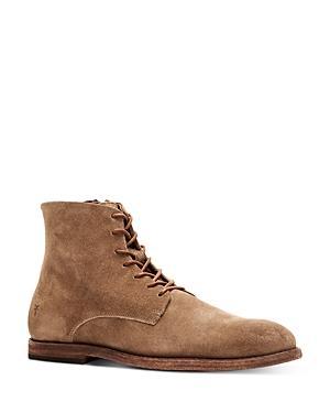 Frye Men's Chris Side Zip Lace Up Boots