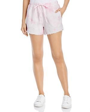 Bella Dahl Linen Frayed Hem Shorts