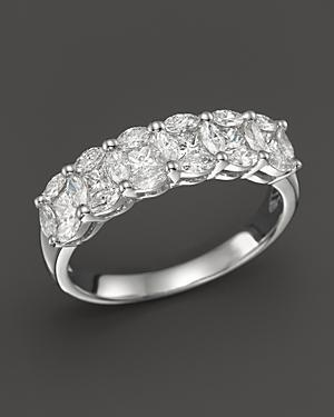 Diamond Band Ring In 14k White Gold, 1.0 Ct. T.w.