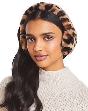 Ugg Faux Fur Leopard Print Earmuff