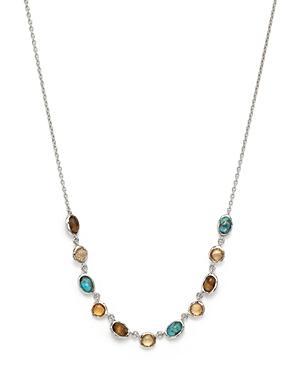 Ippolita Sterling Silver Rock Candy Multi Stone Necklace In Safari, 15 - 100% Exclusive