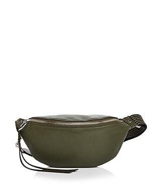 Rebecca Minkoff Bree Leather Striped Belt Bag