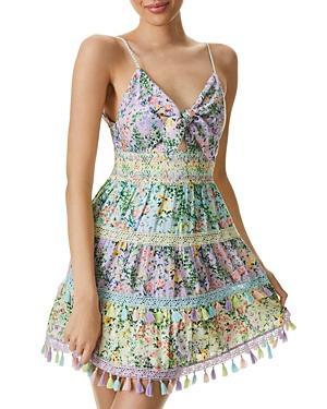 Alice And Olivia Karolina Cutout Mini Dress