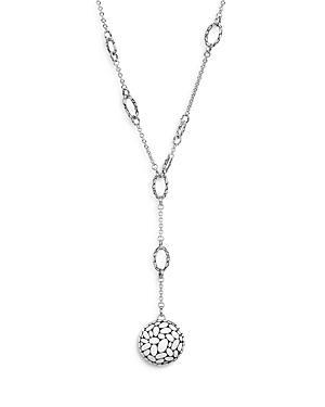 John Hardy Sterling Silver Kali Y Necklace, 22