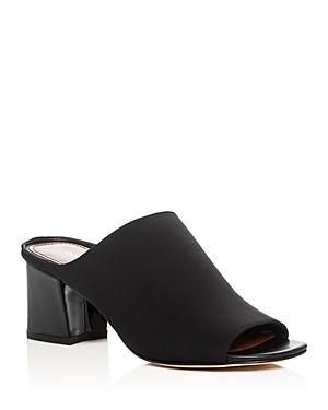 Donald J Pliner Mid Heel Slide Sandals