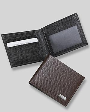 Salvatore Ferragamo Men's Revival Bifold Wallet