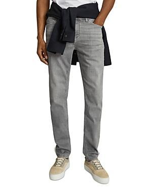 Reiss Adana Slim Jeans In Gray