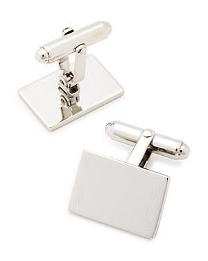 David Donahue Engraved Sterling Silver Cufflinks