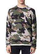 Zadig & Voltaire Kennedy Camo Sweater
