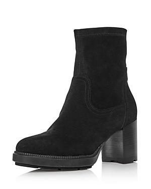 Aquatalia Women's Idalia Block Heel Booties