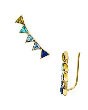 Rebecca Minkoff Triangle Climber Earrings