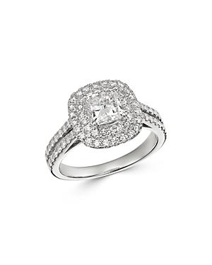 Bloomingdale's Cushion-cut Certified Diamond Engagement Ring In 18k White Gold, 2.0 Ct. T.w. - 100% Exclusive