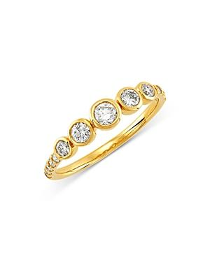 Bloomingdale's Bezel Set Diamond Band In 14k Yellow Gold, 0.50 Ct. T.w. - 100% Exclusive