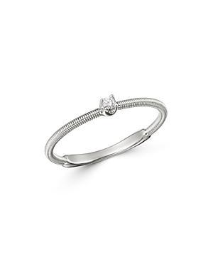 Marco Bicego 18k White Gold Bi49 Diamond Ring - 100% Exclusive