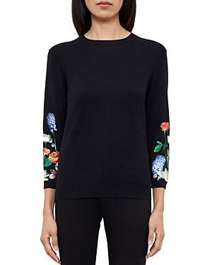 Ted Baker Deyzie Kensington Embroidered Sweater