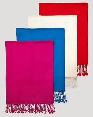Collection 59 Cashmere/silk Pashmina Wrap Scarf