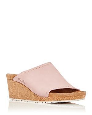 Birkenstock Women's Papillio Namica Studded Platform Wedge Slide Sandals