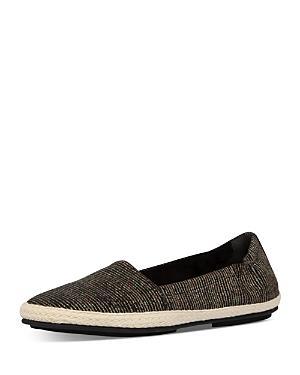 Fitflop Women's Siren Glitter-stripe Espadrille Loafers
