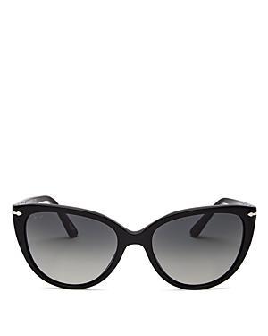 Persol Unisex Cat Eye Sunglasses, 55mm