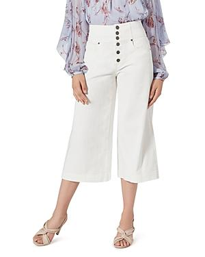Joie Desoray Button-fly Cropped Jeans