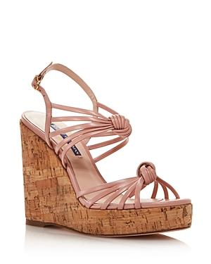 Stuart Weitzman Women's Seascape Platform Wedge Sandals - 100% Exclusive