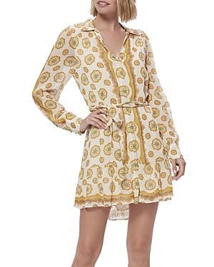 Paige Portofino Printed Mini Dress