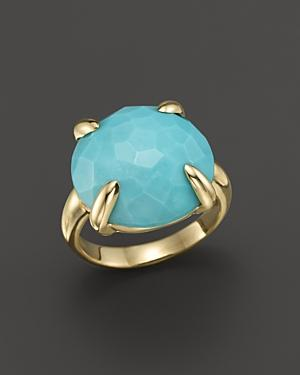 Ippolita 18k Gold Turquoise Lollipop Ring