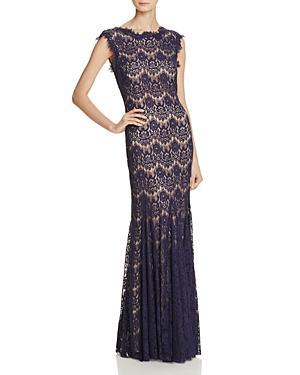 Aqua Gown - Lace