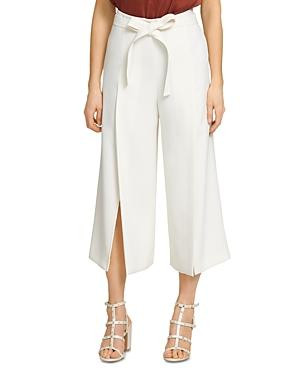 Dkny Cropped Belted Pants