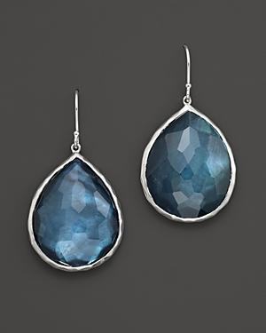 Ippolita Sterling Silver Large Teardrop In Indigo