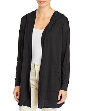 Eileen Fisher Long Hooded Jacket