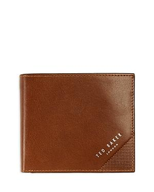 Ted Baker Brogue Detail Leather Coin Wallet