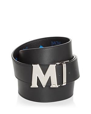 Mcm Men's Claus Leather Belt