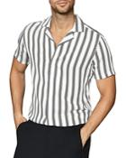 Reiss Zint Striped Shirt