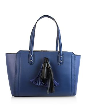 Ivanka Trump Soho Solutions Tassel Leather Work Tote