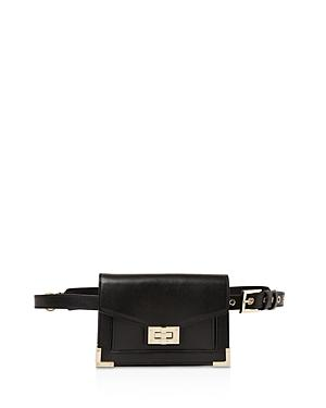 The Kooples Emily Leather Convertible Belt Bag