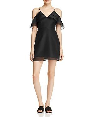Keepsake Lost Lover Cold-shoulder Dress