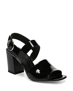 Via Spiga Women's Evelyne Block Heel Slingback Sandals