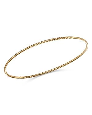 Bloomingdale's Twisted Bangle In 14k Yellow Gold - 100% Exclusive