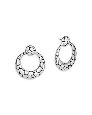 John Hardy Sterling Silver Kali Circle Drop Earrings