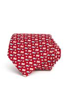 Vineyard Vines Whale And Flag Classic Tie