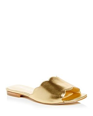 Isa Tapia Women's Neva Scalloped Slide Sandals