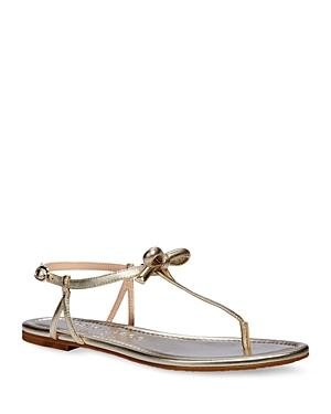 Kate Spade New York Women's Piazza Strappy Thong Sandals